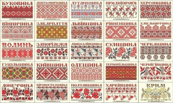 Региональные-орнаменты-вышивки