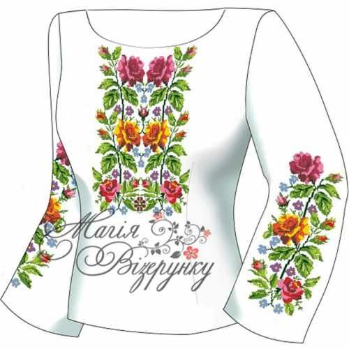 Украинские сорочки вышивка