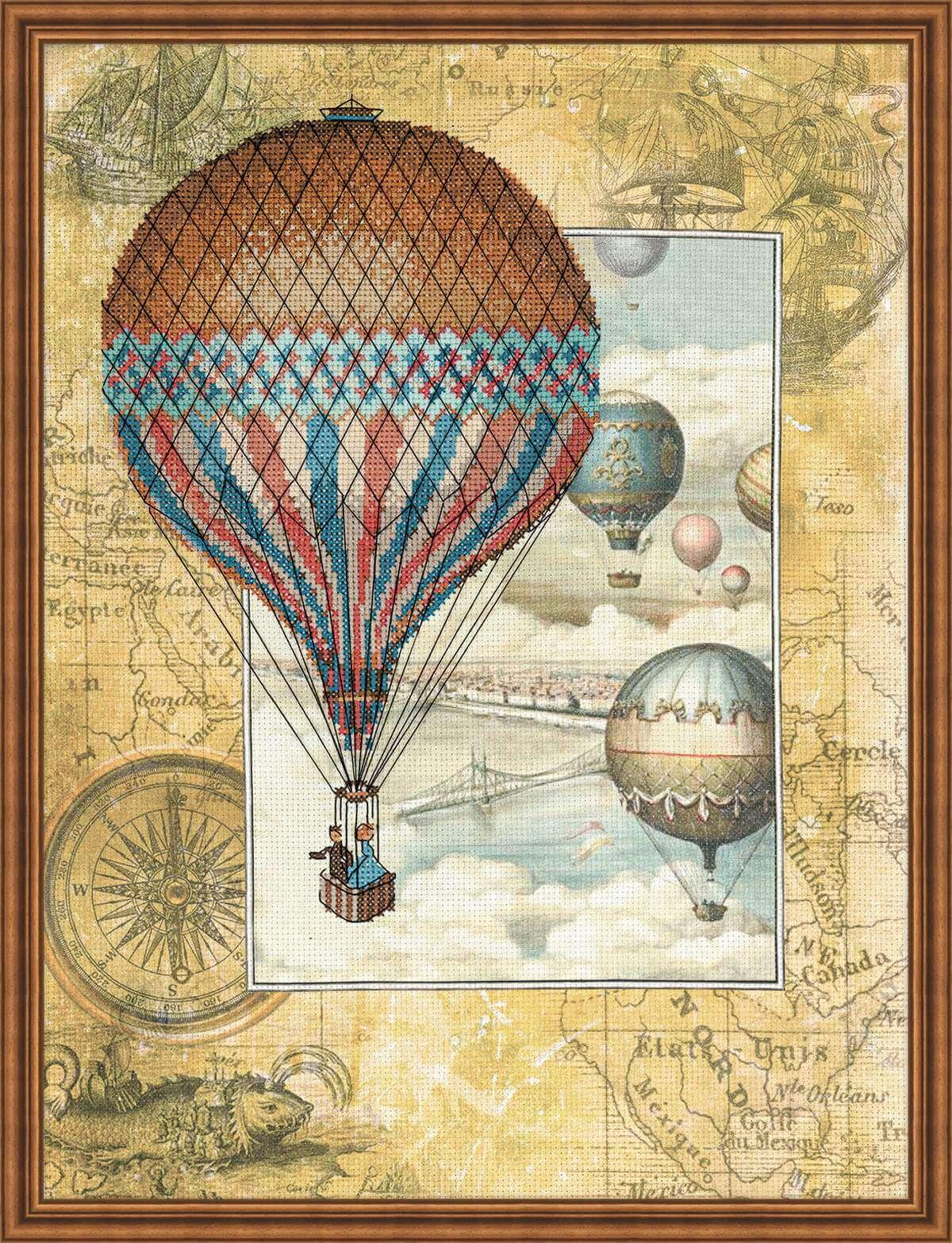 винтажные картинки с воздушными шарами использования насосов