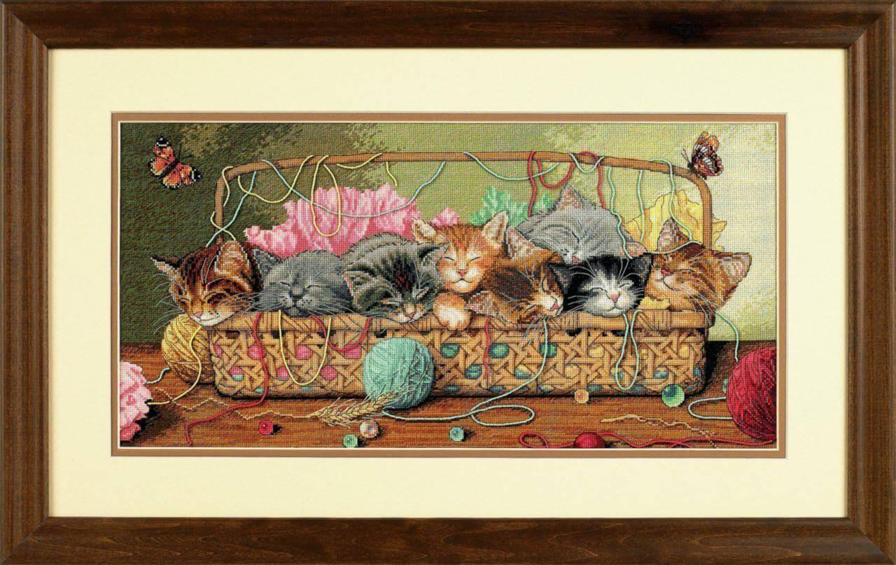 Купить наборы для вышивания из коллекции «Кошки» 89