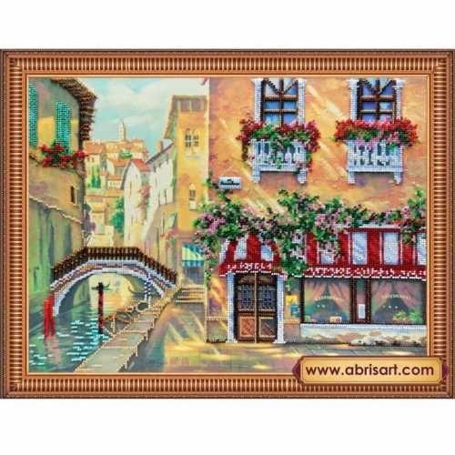 Венецианское кафе вышивка бисером