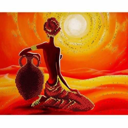 Африканские мотивы душевные картины Кита Малетт
