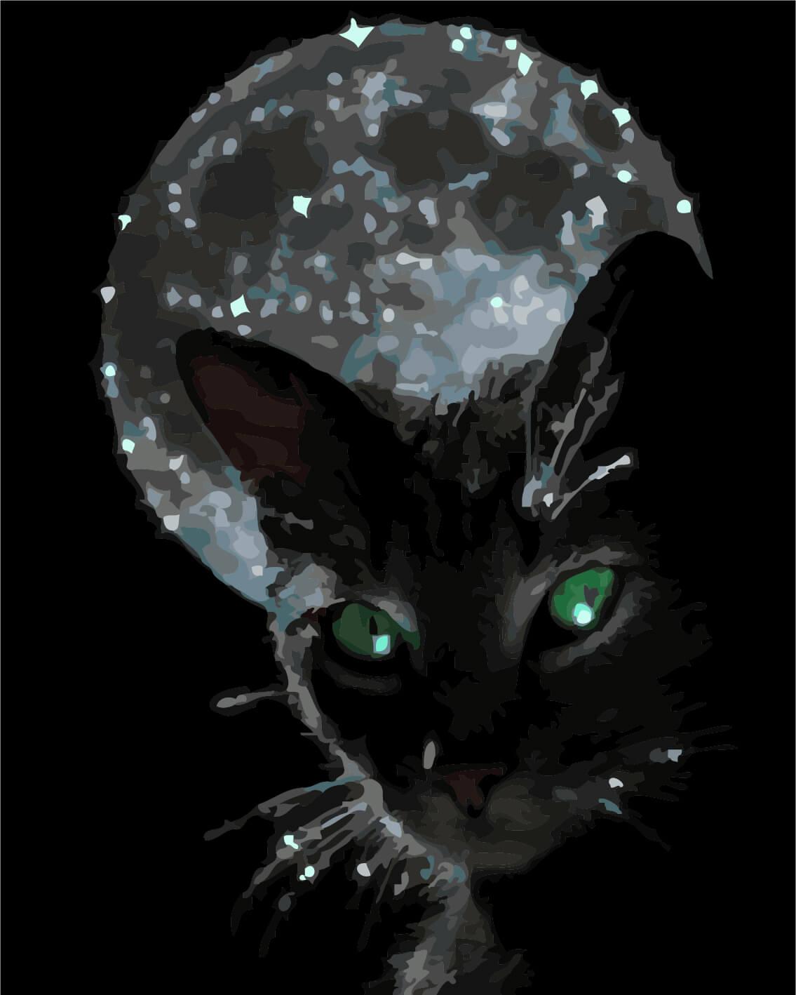 Анимашки коты картинки, открытка день