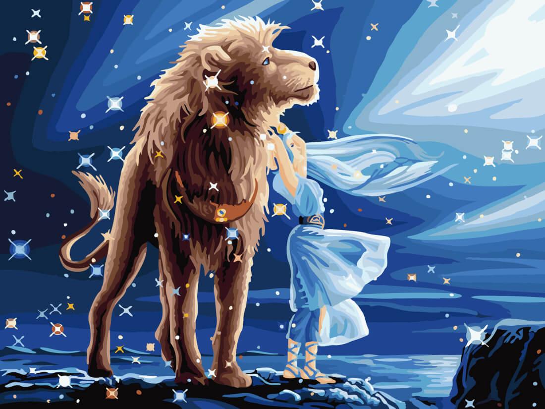 есть картинки на тему знак зодиака лев носят функцию