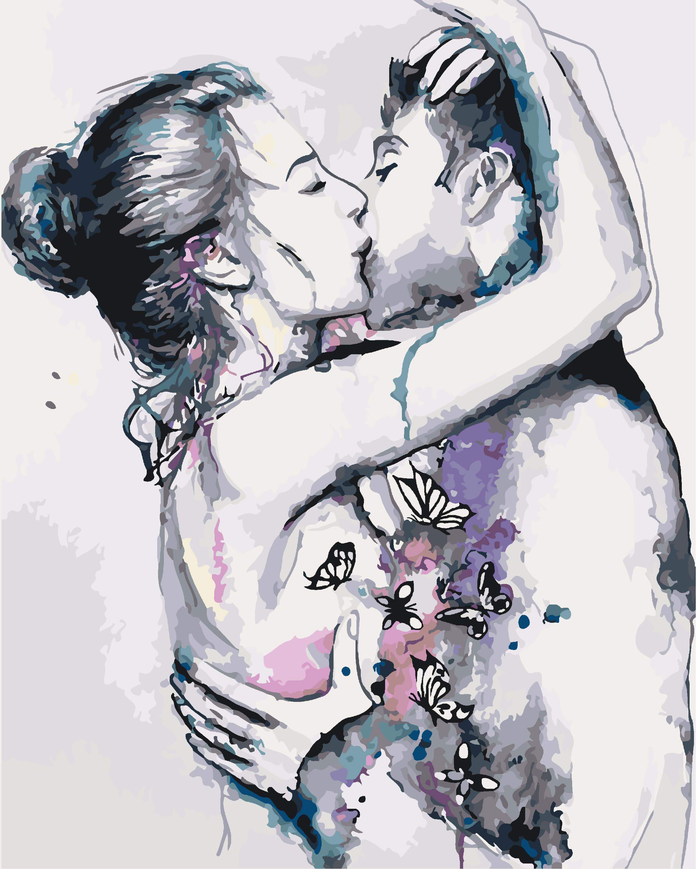 Вкусного вечера, картинки про влюбленных пар с надписями нарисованные