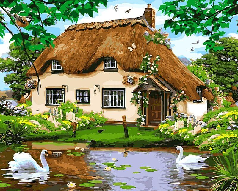 Анимации, открытки картинки с домами