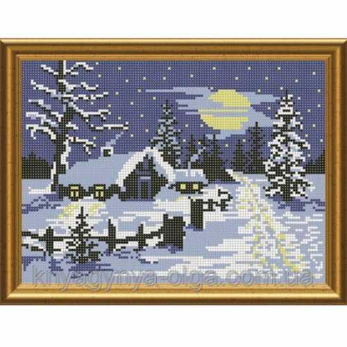 Схемы вышивок на зимнюю 278