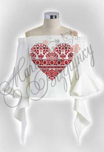 Женская летняя блузка для вышивки бисером или нитками на домотканном  полотне b317735f55e3e