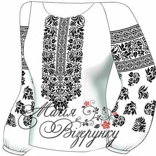 Женская сорочка для вышивки бисером или нитками на домотканном полотне 4af64eec26a1f