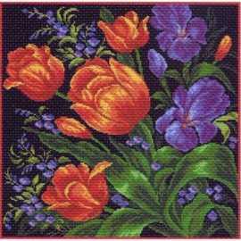 Вышивка подушки матренин посад